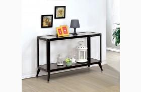 Vibber Black Sofa Table