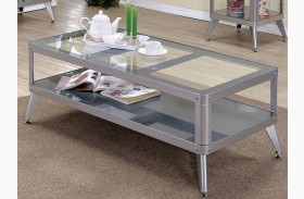 Vibber Silver Coffee Table
