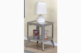 Kidder Silver End Table
