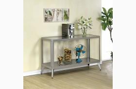 Vibber Silver Sofa Table