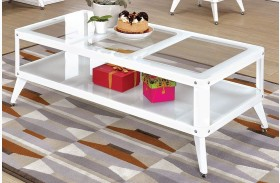 Vibber White Coffee Table