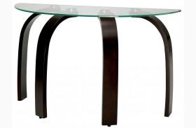 Nieve Dark Walnut Sofa Table