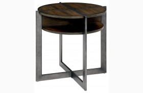Matilda Dark Oak End Table