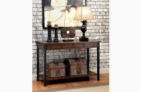 Paige Medium Weathered Oak Sofa Table