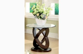 Atwood II Dark Walnut End Table