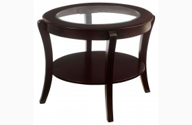 Finley Espresso End Table