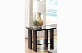 Luminar II Espresso End Table