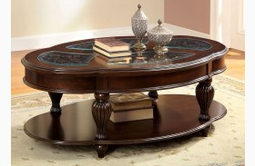 Centinel Dark Cherry Coffee Table