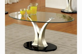 Valo Satin Plated Coffee Table