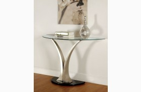 Valo Satin Plated Sofa Table