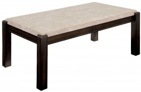 Gladstone Ivory Marble Top Coffee Table