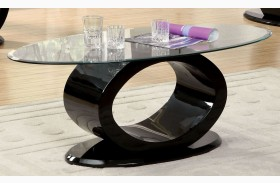Lodia III Black Coffee Table
