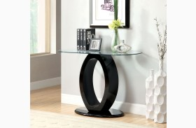 Lodia III Black Sofa Table