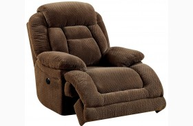 Grenville Brown Power Reclining Chair