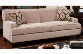 Francis Ivory Fabric Sofa
