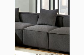 Langdon Gray Armless Chair