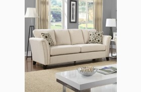 Campbell Ivory Sofa