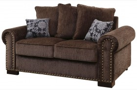 Rydel Brown Loveseat