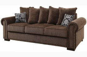 Rydel Brown Sofa