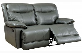 Dolton Gray Reclining Loveseat