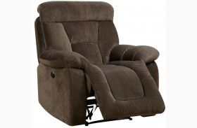 Bloomington Brown Power Reclining Chair