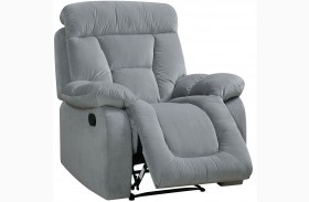 Bloomington Gray Reclining Chair