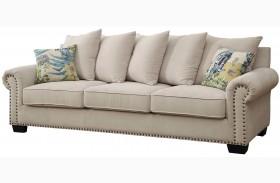 Skyler Ivory Sofa
