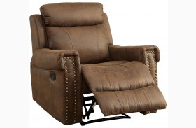 Geddes Brown Recliner