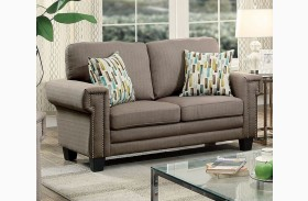Sanders Gray Loveseat
