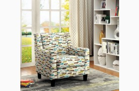 Saffron Pattern Chair