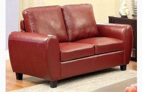 Hatton Red Loveseat