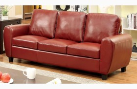 Hatton Red Sofa