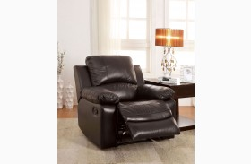 Davenport Top Grain Leather Match Recliner