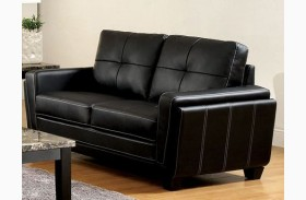 Blacksburg Black Loveseat