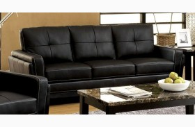 Blacksburg Black Sofa