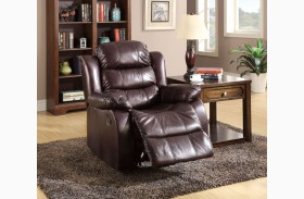 Berkshire Rustic Brown Recliner