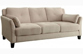 Ysabel Beige Sofa
