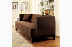 Sofia Brown Loveseat