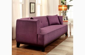 Sofia Purple Loveseat