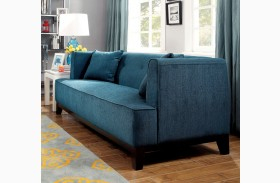 Sofia Dark Teal Loveseat