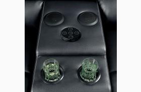 Gaffey Black Bluetooth Speaker Console