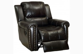 Foxboro Brown Recliner