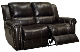 Foxboro Brown Loveseat