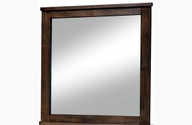 Elkton Oak Mirror