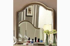 Nisha Gold Mirror