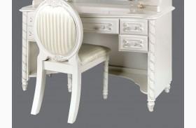 Alexandra Pearl White Desk