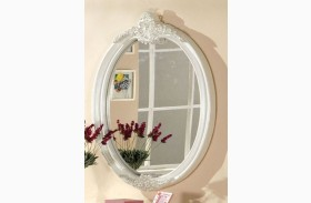 Alexandra Pearl White Mirror