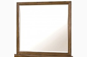 Bairro Reclaimed Pine Wood Mirror