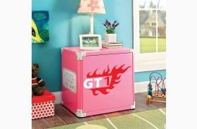 Power Racer Pink Nightstand