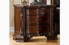 South Yorkshire Brown Cherry Nightstand